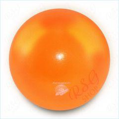 Ball Pastorelli FIG 18cm Glitter HV Оrange