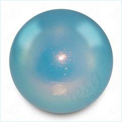 Ball Pastorelli FIG 18cm Glitter HV Celeste