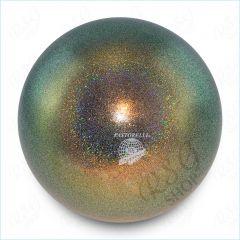 RSG Ball Pastorelli Wettkampfball 18cm FIG Gymnastikball Glitter HV Galaxy