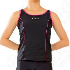 Ärmelloses TOP Chacott col. Black x Pink Art. 01739