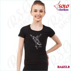 T-Shirt Solo col. Black BA652.0