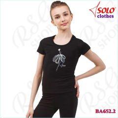 T-Shirt Solo col. Black BA652.2
