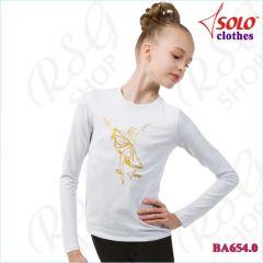 T-Shirt Solo col. White BA654.0