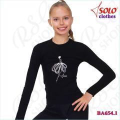 T-Shirt Solo col. Black BA654.1