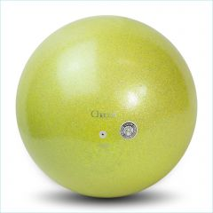 RSG Ball Chacott Practice Prism 17cm Gymnastikball Lime Yellow