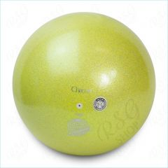 Ball Chacott Prism 18,5cm Lime Yellow Glitter FIG