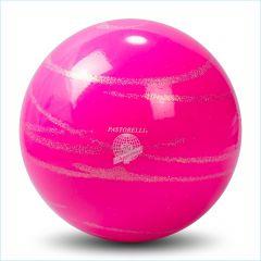 Ball Pastorelli FIG 18cm Glitter HV Verde Petrolio