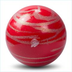 Pastorelli Ball Kiss & Cry RSG Wettkampfball Rot-Silber