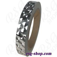 Chacott Holographic Diamond Tape 1,5cm x 17m col. Silver 07-98098
