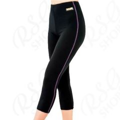 Leggings corti Sasaki HW-1297L Hot Wear col. Nero