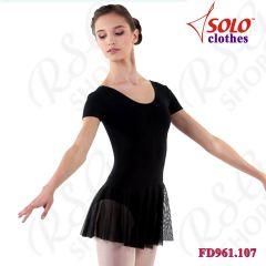 Trainingsanzug Solo Cotton col. Black FD961.107