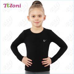 T-Shirt Tuloni FN03CL-B Logo Schwarz