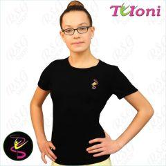 T-Shirt Tuloni FG007LLC-B mit Bild Black