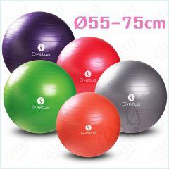 Sveltus Gymnastikball 55-75 cm Pilatesball Gymball Fitnessball