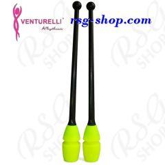 Keulen Venturelli 41 cm Gummi col. Black-Neon Yellow FIG 415T-118