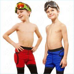 Kinder Protektorshorts Crashpad Schutzhose Polster Inline Skating Snowbording Biking T00134