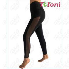 Leggings Tuloni mod. Gella col. Black Art. LD03C-B