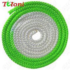 Seil Tuloni Bi-col. Neon Grün-Weiß