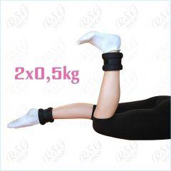 Pastorelli Gewichtsmanschetten 2x0,5kg