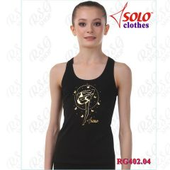 Tank Top Solo Cotton col. Black Art. RG402.04.107
