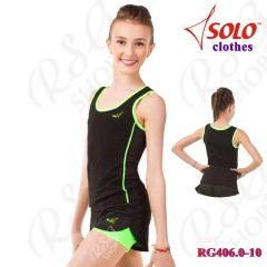 Top Solo col. Black-Neon Green Art. RG406.0-10