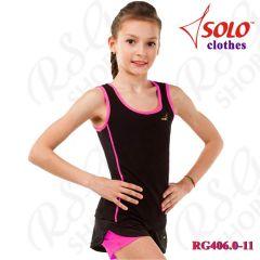 Top Solo col. Black - Neon Pink Art. RG406.0-11