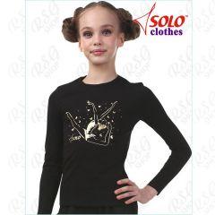 Langarmshirt Solo col. Black Art. RG654.05.107
