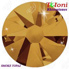 Strass Tuloni col. Smoke Topaz mod. Basic HotFix