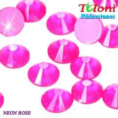 Strass Tuloni col. Neon Rose No HotFix Flat Back