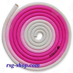 Seil 3m Pastorelli mod. New Orleans col. Pink-White FIG 04269