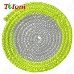 Seil Tuloni Bi-col. Neon Gelb-Weiß