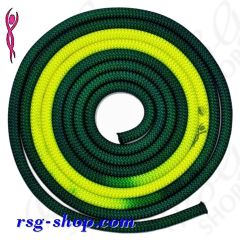 Seil Venturelli Gradation 3 m FIG col. Dark Green-Yellow PLDD213118