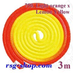 Seil Chacott Gradation 3 m FIG col. Orange-Yellow 98750