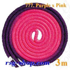 Seil Chacott Gradation 3 m FIG col. Purple-Pink 98777