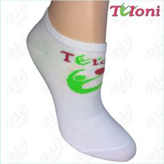 RSG Socken Tuloni Logo col. White-Green Art. T0973-G