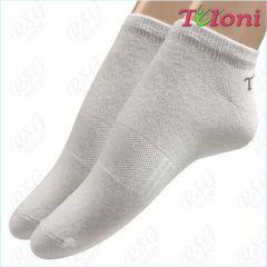 Socken Tuloni Logo col. White Art. T0975-W