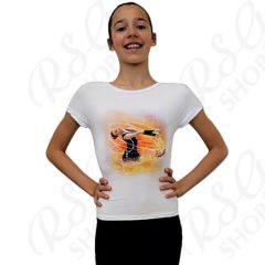 T-Shirt Pastorelli Dreamin Light-Fire col. White