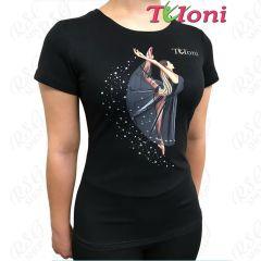 T-Shirt Tuloni mod. Ballet col. Black Art. TSH01-B