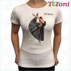 T-Shirt Tuloni mod. Ballet col. White Art. TSH01-W