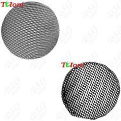 Haarnetz Tuloni size 1x1/ 5x5 mm col. Black Art. T0979/T0980