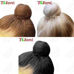 1 x Unsichtbares Haarnetz Tuloni Blonde/Brown/Black