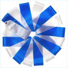 Лента Tuloni цв. Белый-Синий