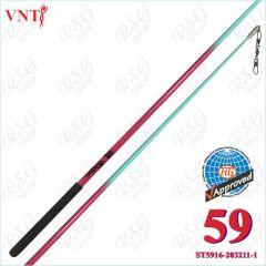 Stab 60 cm Venturelli Fuchsia - Aquamarine FIG ST5916-203211-1