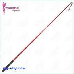Stab 60 cm Venturelli Red Glitter-Black FIG ST5916-61602
