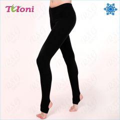 Winterleggings Tuloni T0129V-B thermo Leggings mit Steg für RSG, Tanzen und Ballett