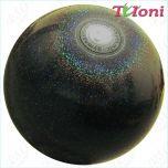 Ball Tuloni 18 cm Metallic-Glitter col. Black Art. T0985