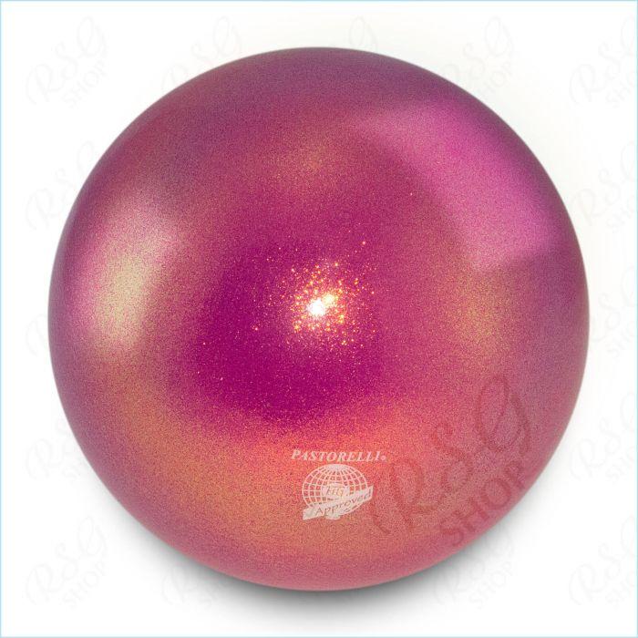 Ball Pastorelli FIG 18cm Glitter HV King Magenta