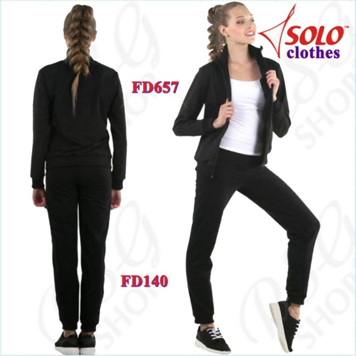 Sporthose Solo col. Black Art. FD140.839